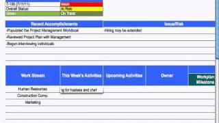(9) Status Report - Project Management