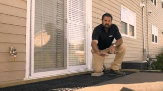 Installing Geotextile Fabric on a Patio