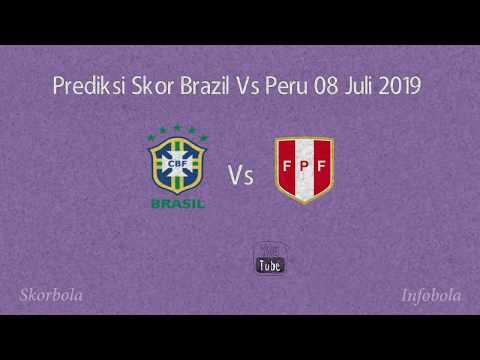 Prediksi Skor Brazil Vs Peru 08 Juli 2019