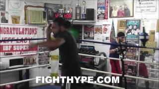 KEITH THURMAN TURNS IT UP A NOTCH AS KENDALL HOLT GETS HIM FIRED UP FOR DANNY GARCIA CLASH