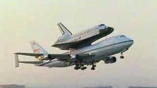 747 Shuttle Carrier Aircraft (SCA) Ferry Flights
