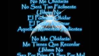 NO ME OLVIDARAS - CONCEPTO LATINO