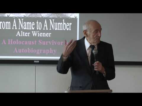 Alter Wiener: From a Name to a Number