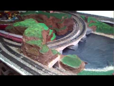 How to build a Model railway train layout cleaning & building part 2