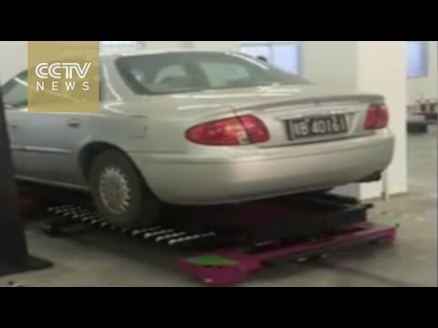 Chinese startup creates automated parking valet robot