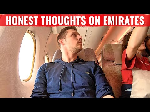 Review: My HONEST THOUGHTS ON EMIRATES A380 ECONOMY CLASS!