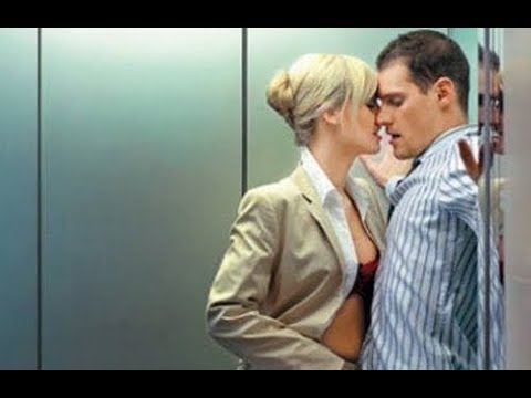 10 Странных и смешных моментов заснятых на камеру в лифте