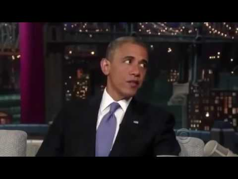 Barack Obama On Late Show