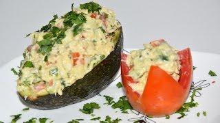 Tuna Stuffed Avocado Recipe - Avocado Recipe - Tuna Recipe