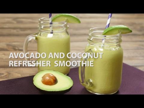 avocado-and-coconut-refresher-smoothie