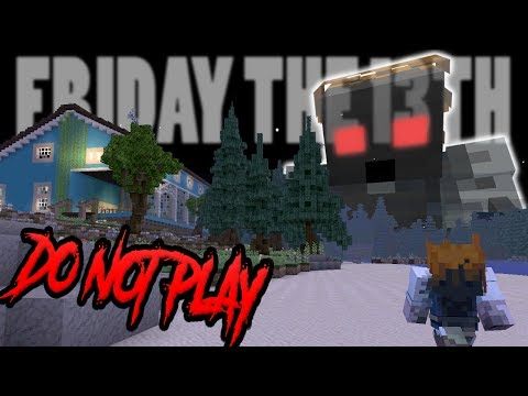 !!OMG Do NOT Play this Minecraft Game at NIGHT !! (SCARY) - Friday The 13th in minecraft !!