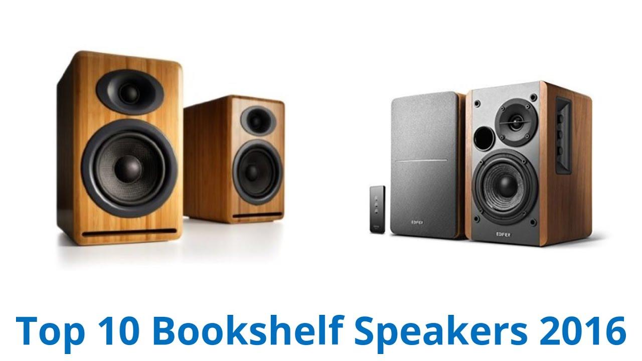 10 best bookshelf speakers 2016 | fall 2016 - youtube