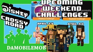 ★ DISNEY CROSSY ROAD Secret Characters   Upcoming WC's + YOUNG JACK SPARROW + HECTOR BARBOSSA