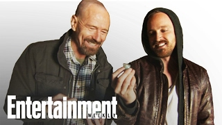 Breaking Bad's Bryan Cranston & Aaron Paul Reveal What's in the Meth on Set | Entertainment Weekly