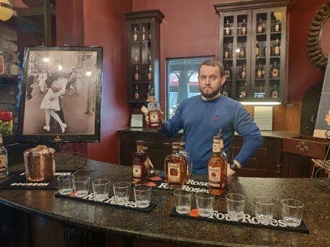 Four Roses Distillery. Очень крутая дистиллерия из Кентукки. (Kentucky Bourbon Trail#3)