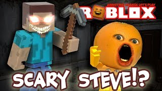 Roblox: NIGHTMARE FIGHTERS: SCARY STEVE?! [Annoying Orange Plays]