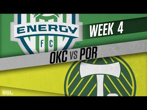 OKC Energy FC vs Portland Timbers 2: April 7, 2018