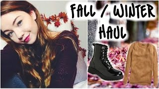 Fall & Winter Clothing Haul!