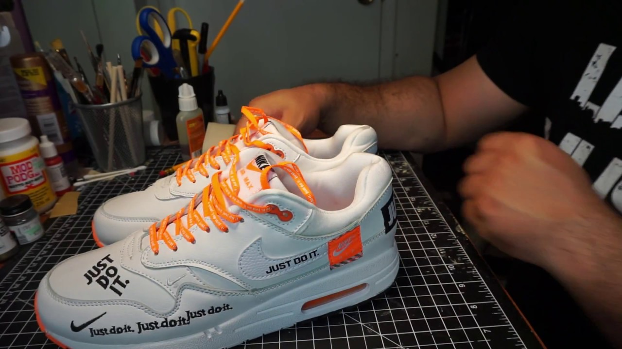 best loved 25354 e255f Ioffer Just Do It Air Max 1s