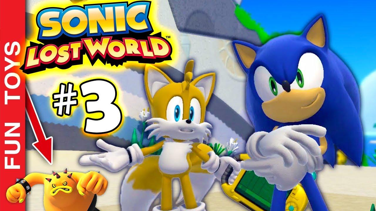 🔵 SONIC LOST WORLD #3 - O Sonic atrapalhou o EGGMAN, mas isso pode ter consequências inesperadas!🤦♂