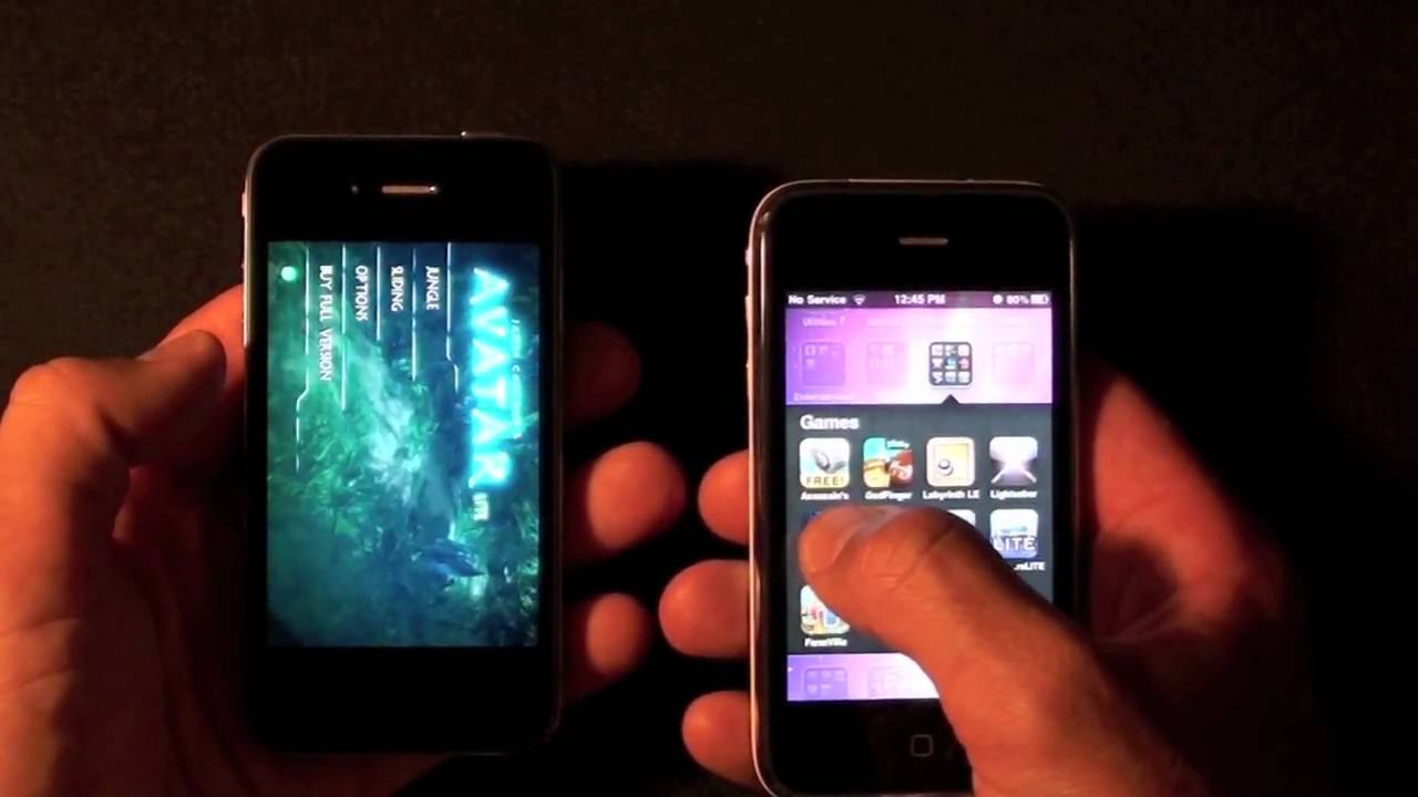 Iphone 4 Vs 3gs Speed Tests Youtube