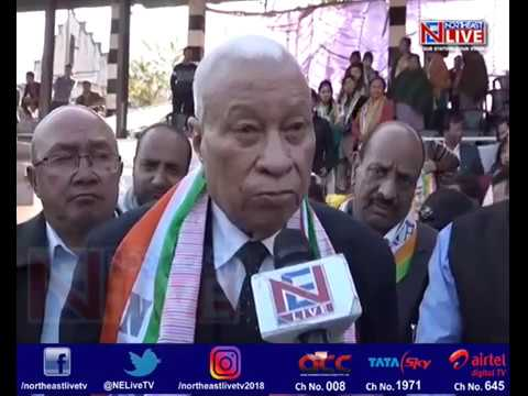 DD Lapang Joins NPP In Grand Function In Ri-Bhoi District Of Meghalaya