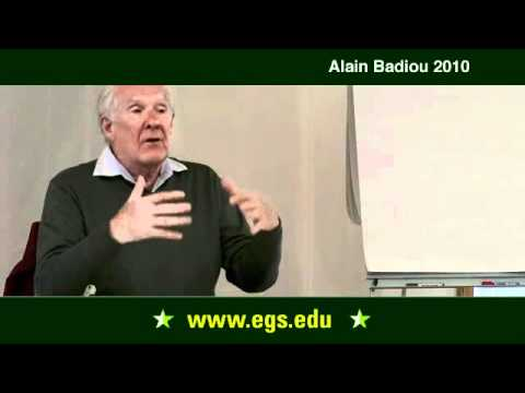 Alain Badiou. Philosophy: What Is to Be Done? 2010.