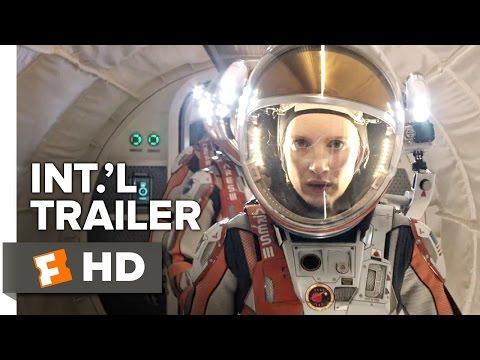 The Martian Official International Trailer #1 (2015) - Matt Damon, Jessica Chastain Movie HD