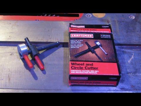 Craftsman circle cutter