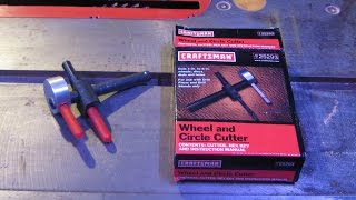 Craftsman circle cutter