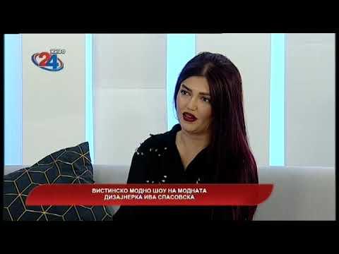 Македонија денес - Вистинско модно шоу на модната дизајнерка Ива Спасовска