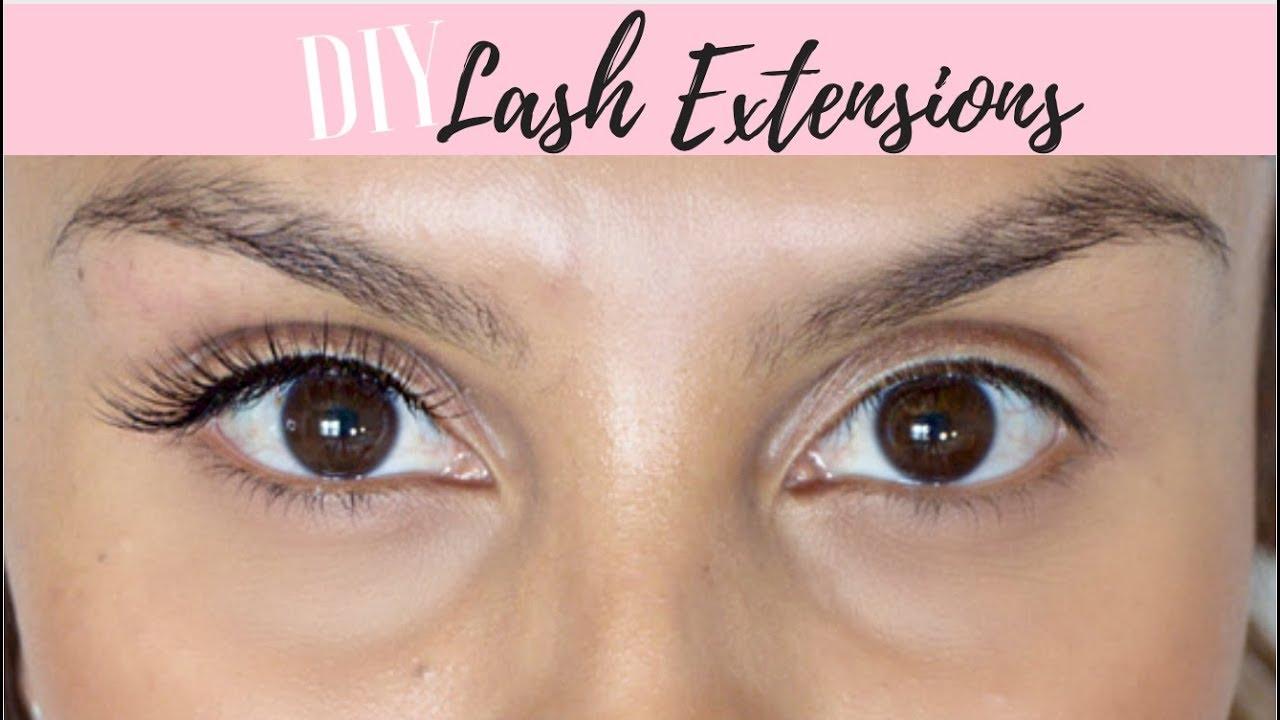 870cfd42ba8 DIY Lash Extensions (using INDIVIDUAL LASHES!)   ARDELL LASHTITE ADHESIVE  REVIEW