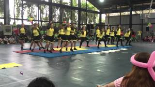 The Lopez Values Cheer Dance Competition: Integrity - Yellow