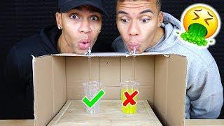 TRINKE NICHT DAS FALSCHE MYSTERY GETRÄNK !!! | Kelvin und Marvin