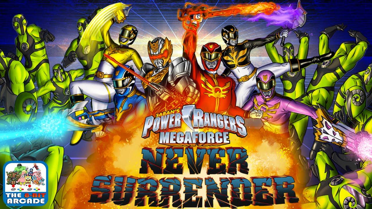 Power rangers megaforce never surrender stop the warstar aliens gameplay playthrough youtube - Moto power rangers megaforce ...