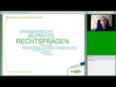 klicksafe-Webinar: Rechtsfragen der Internetnutzung