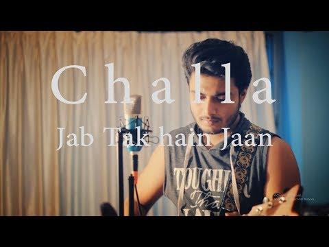 Challa Song - Raj Barman | Unplugged Cover | ShahRukh Khan | Lyrical Video