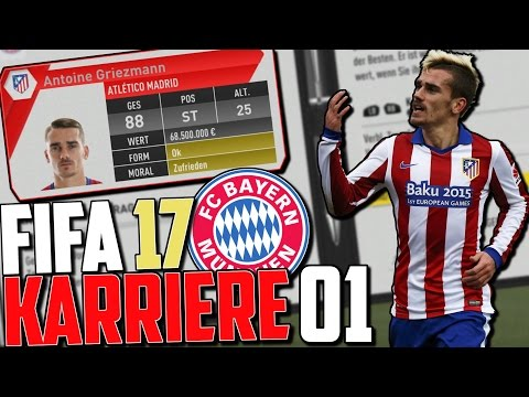 DIREKT TOP TRANSFERS !! | FIFA 17 Karrieremodus Fc Bayern (Deutsch) #01