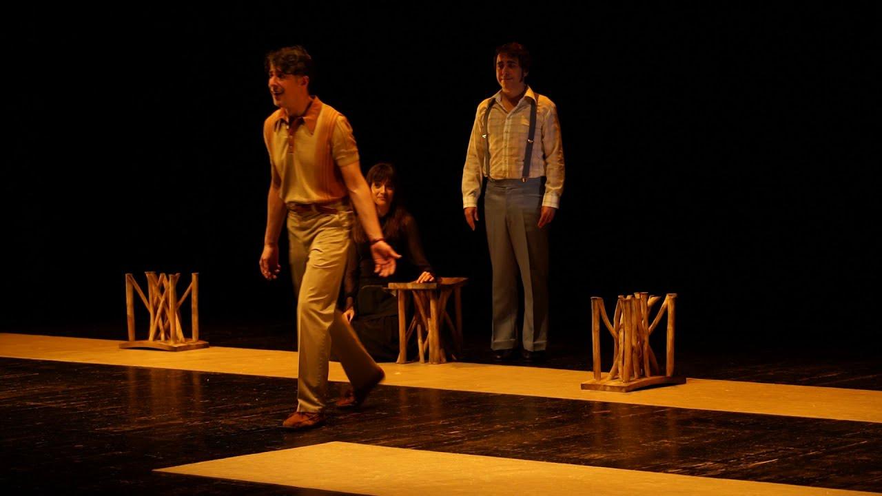 Resultado de imagen de Paloma negra (Tragicomedia del desierto) en los Teatros del Canal