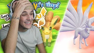 MY FIRST EVER SHINY VULPIX IN LET'S GO SHINY REACTION Pokémon Lets Go Pikachu & Eevee Shiny Reaction