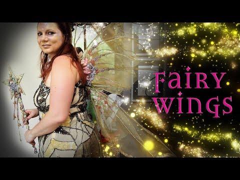 Flower Fairy Wings Tutorial - How to Make Fairy Wings