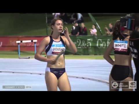 Women U16  4x100 Relay   2016 Australian Junior Athletics Championships