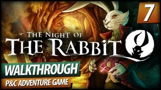 The Night of the Rabbit - Walkthrough PART 7 | Finishing Leafboat & Dwarf Cold Medicine (Commentary)