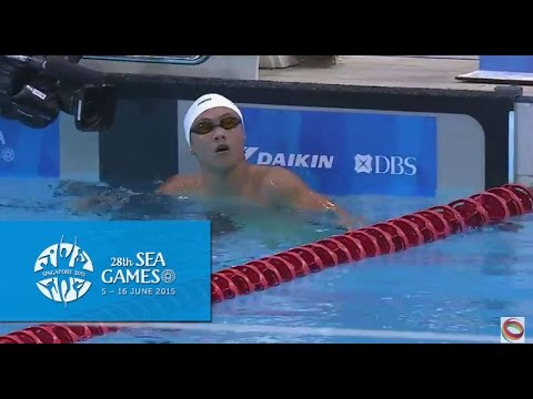Swimming Men's 1500m freestyle (Day 5) | 28th SEA Games Sing