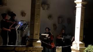 8.9.2018. Pula, Croatia Violin: Paula Rosenberg Clarinet: David Kumpare Piano: Luka Demarin & Asja Rizvić Cello: Ira Popović Accordion: Karmen Antunović ...
