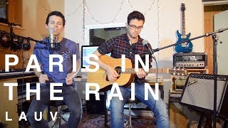 Download Lagu Lauv - Paris In The Rain (Matthias & Florian Grundei Cover) Mp3