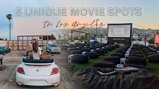 5 Best unique Outdoor Movie Theaters in LA | Things to do in Los Angeles