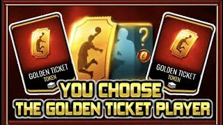 cREATE MY GOLDEN TICKET PLAYER!  NBA LIVE MOBILE 19 S3 GOLDEN TICKET PLAYER CREATION (TEST SERVER)