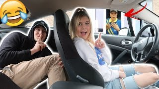 DRIVE THRU PERSON SWAP PRANK!!