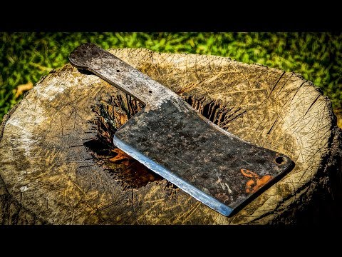 Restoring and Modifying Mr. Barnhart's Vintage Cleaver